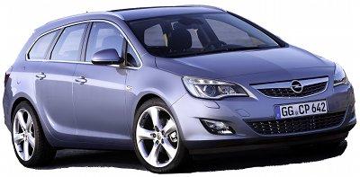 Présentation de l'<b>Opel Astra Sports Tourer</b>, break dynamique sur base d'Opel Astra.