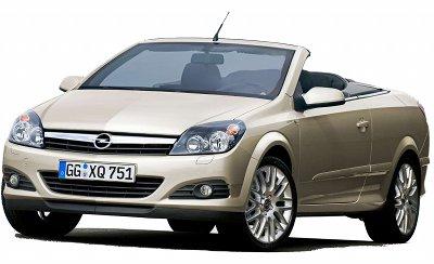 Présentation l'Opel Astra Twintop de 2006, version coupé-cabriolet de l'Opel Astra.